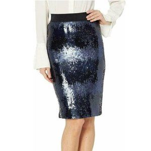 NWT Vince Camuto Ombre Sequin Pencil Skirt Formal
